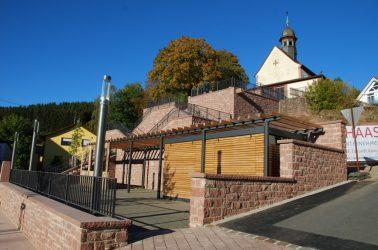 Neugestaltung Dorfplatz Aura