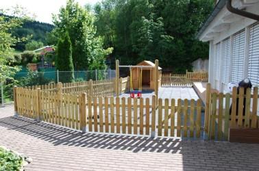 Außenanlage Kinderkrippe Rieneck